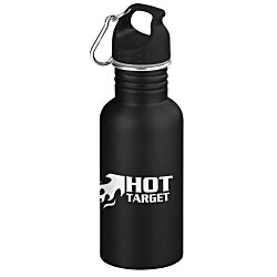 View a larger, more detailed picture of the Wide Mouth Matte Stainless Sport Bottle - 24 hr