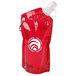 View a larger, more detailed picture of the Folding Water Bottle - 20 oz