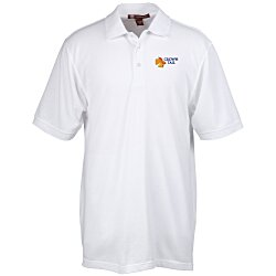 View a larger, more detailed picture of the Harriton 9 34 oz Easy Blend Polo - Men s - 24 hr